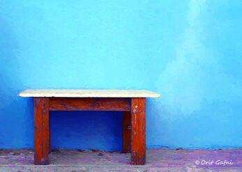 רק שולחן