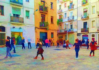 רוקדים ברחובות
