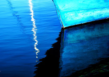 Shapes in Shades of Blue